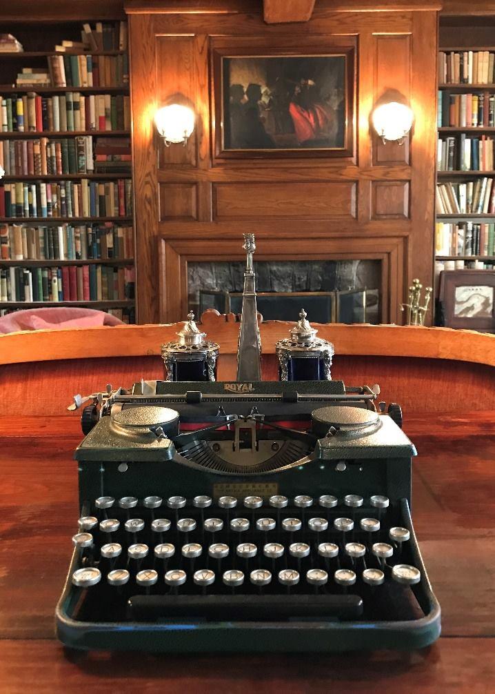 Pearl S. Buck's typewriter