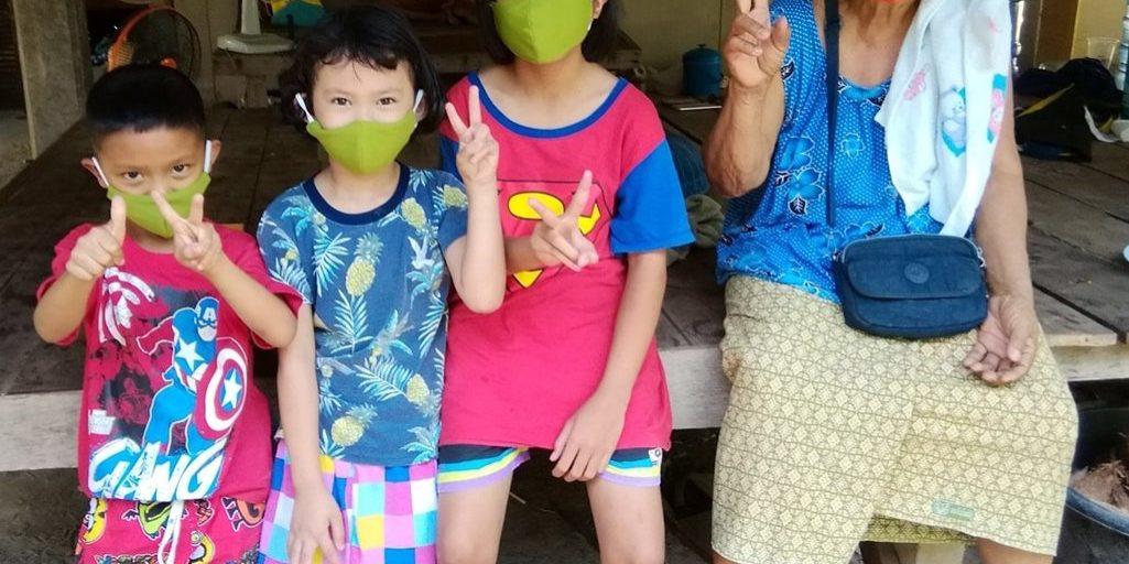 UBR Provide Face Masks To Sponsored Children & Family 1