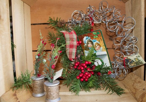 Holiday items at the Pearl S. Buck Volunteer Association's Holiday Craft Show